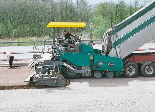 Bild 12:6 Hjulburen asfaltutläggare