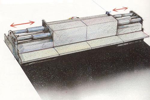 Bild 12:14 Skrid med hydraulisk breddökning